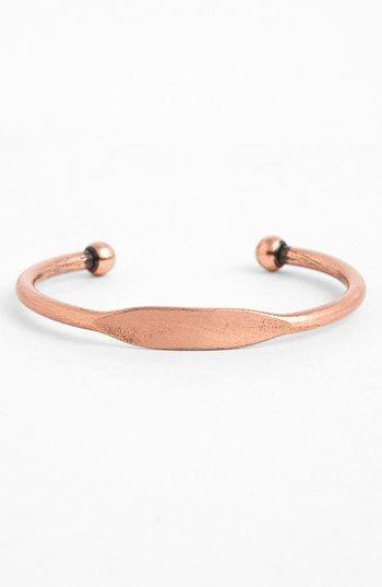Topshop Flat Front Bracelet | Nordstrom