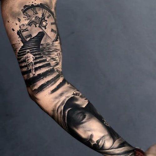 125 Best Inner Bicep Tattoos For Men Cool Ideas Designs 2020 Guide Inner Arm Tattoos Arm Tattoos For Guys Bicep Tattoo Men