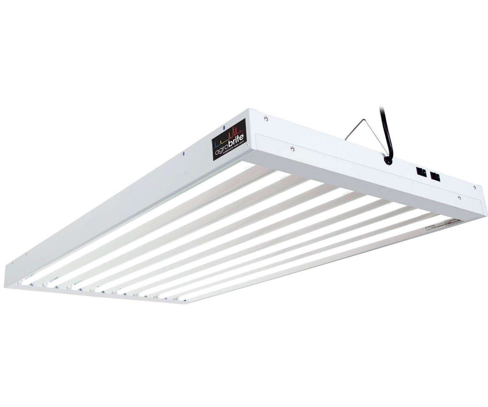 Agrobrite T5 432w 4 8 Tube Grow Light Fixture W Fluorescent Lamps Flt48 Grow Light Fixture Indoor Grow Lights Grow Light Fixtures
