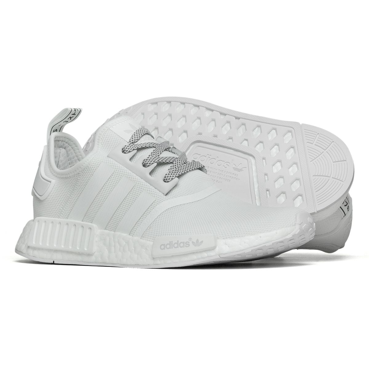 Tênis Adidas NMD R1 Branco - Maze  25579aba7de