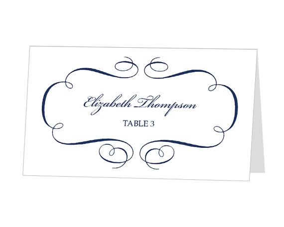 place card template for mac