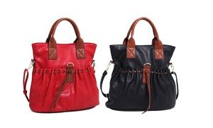 e92360070699 Groupon - Luna Moon Lacey Tote Bag. Multiple Colors Available. in Online  Deal. Groupon deal price   22.99