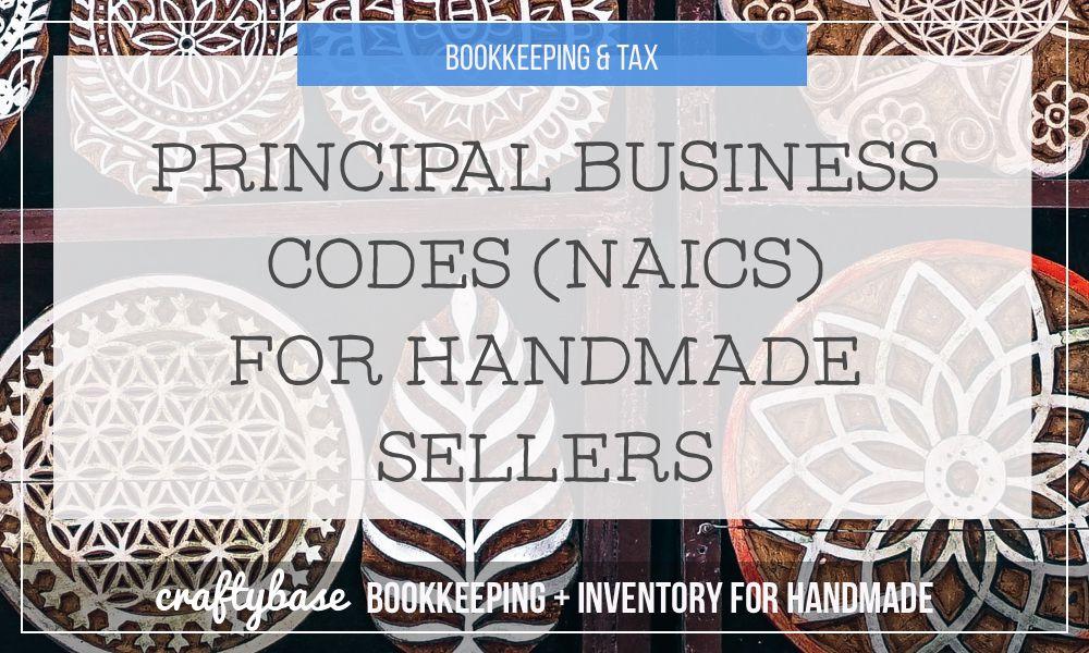Principal Business or Professional Activity Codes (NAICS