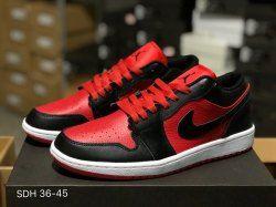 a5a8fa7a61bff1 Durable Nike Air Jordan 1 Low Gym Red Black White 553558 610 Mens Womens  Basketball Shoes