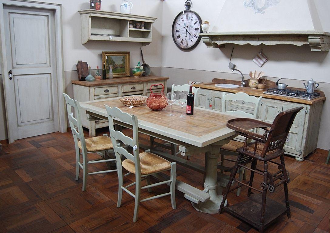 La Cucina Provenzale Essenza, in stile Francese Provenzale, è un ...