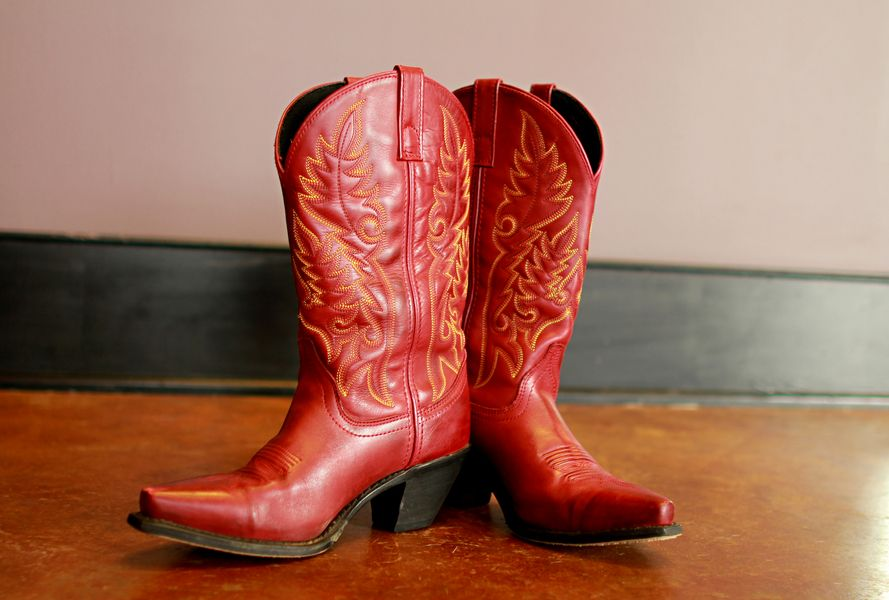 Red Cowboy Boots | Red cowboy boots