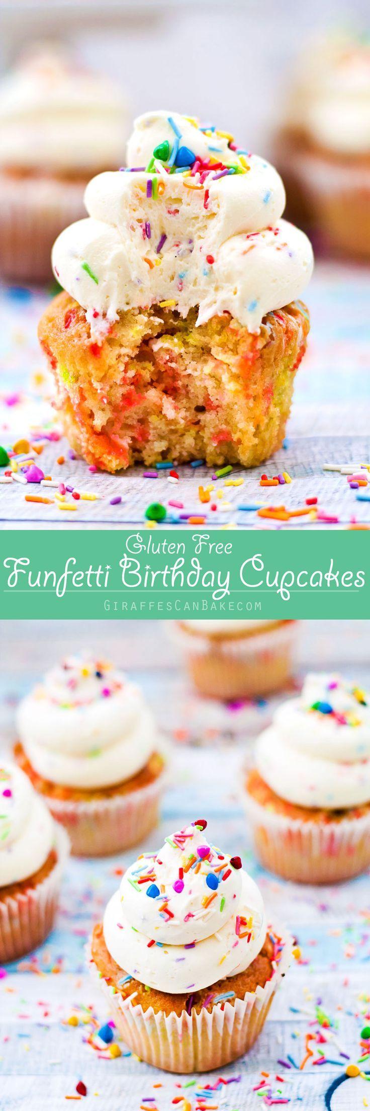 Funfetti cupcakes gluten free recipe cupcake