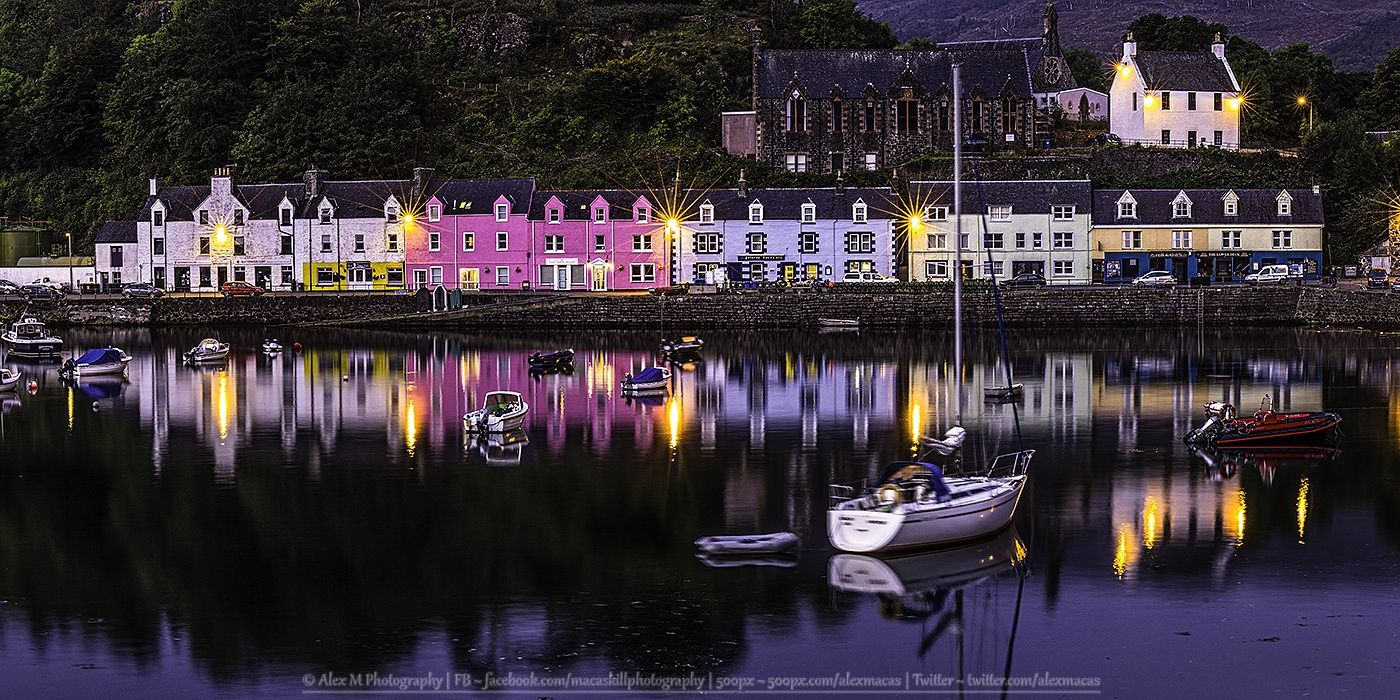 Portree Pier Houses! by Alex M Photography  on 500px