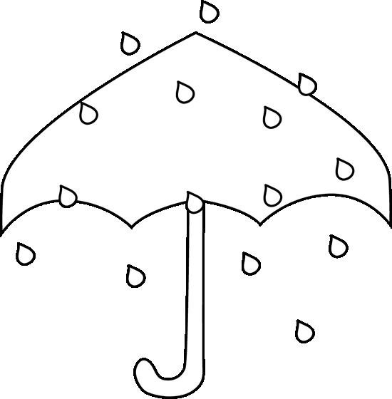 Black And White Black And White Rain Umbrella Rain Umbrella Clip Art Black And White