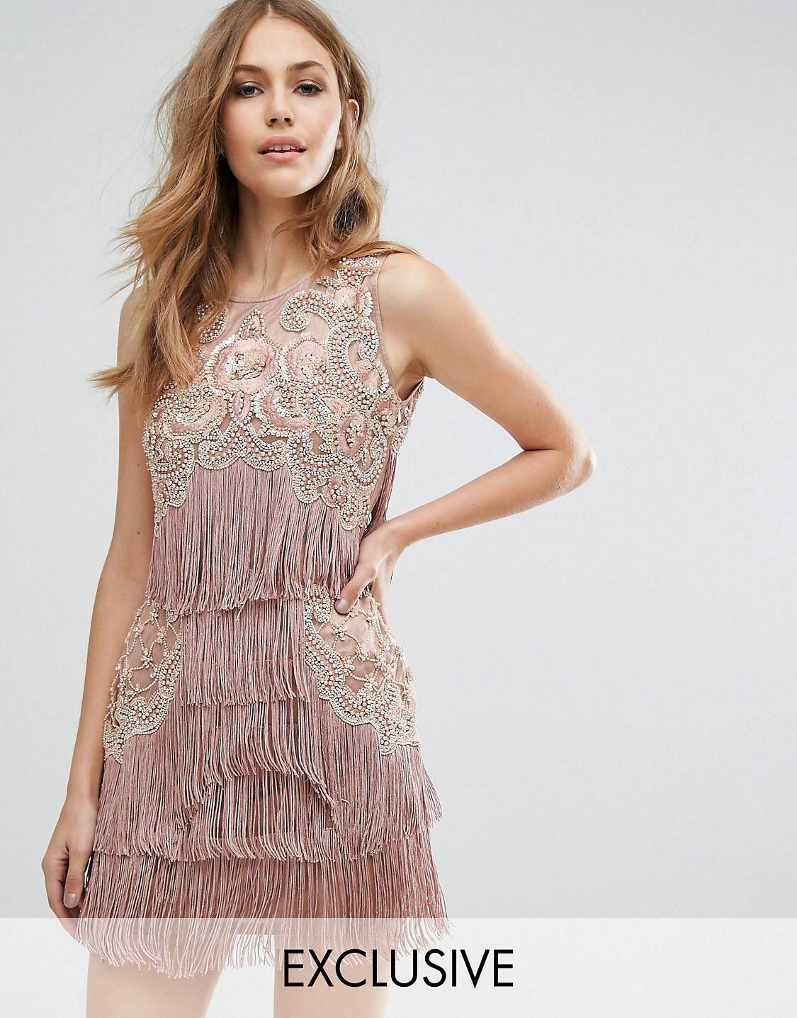 A Star is Born Mini-fringe dress from ASOS!  Born dress, Fringe