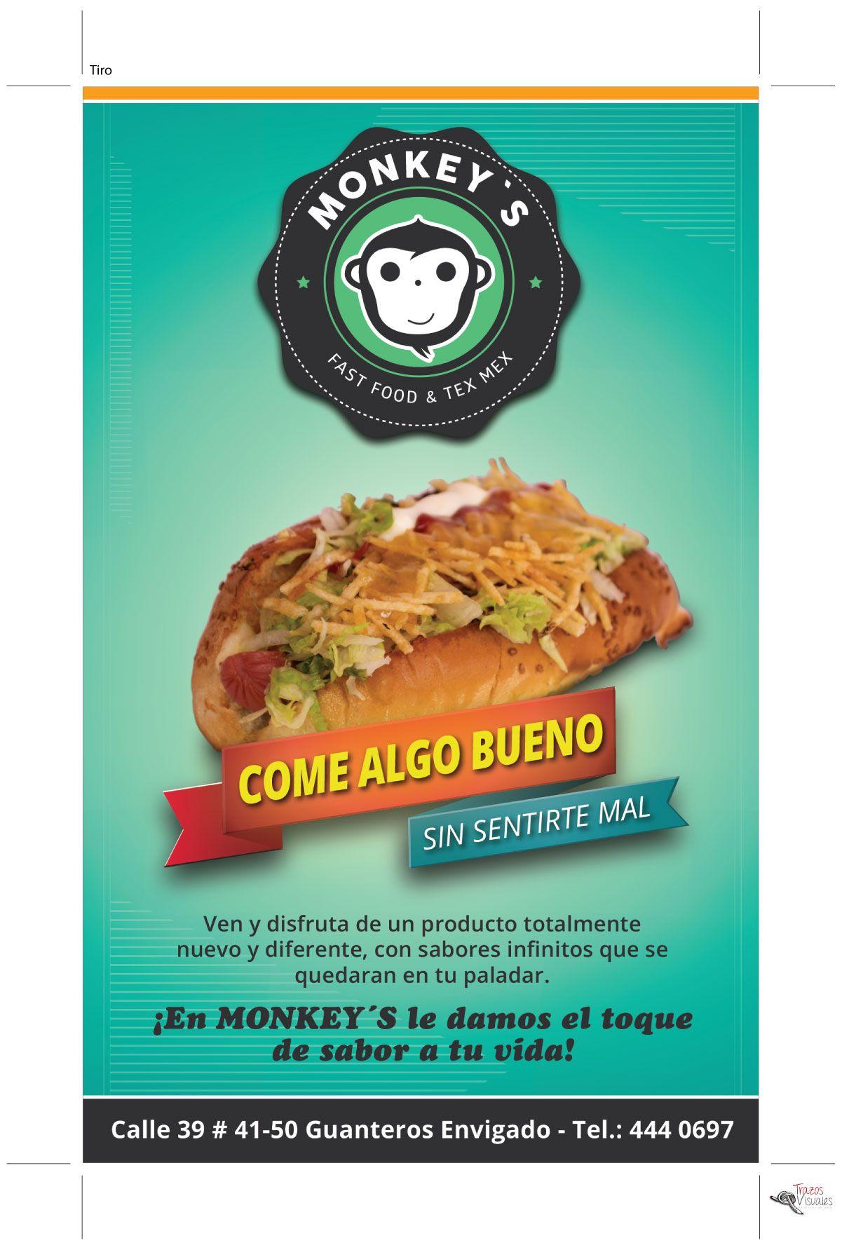 Pin by Trazos Visuales on Monkey s Identidad Corporativa