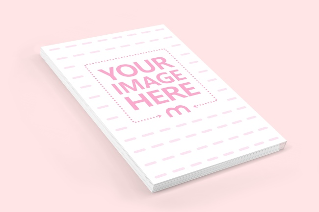 A 3d Mockup Template For Showcasing Your A5 Size Notebook Design Best Suited For A Thick Notebook Easily Upload Your Cove Mockup Paper Mockup Notebook Design