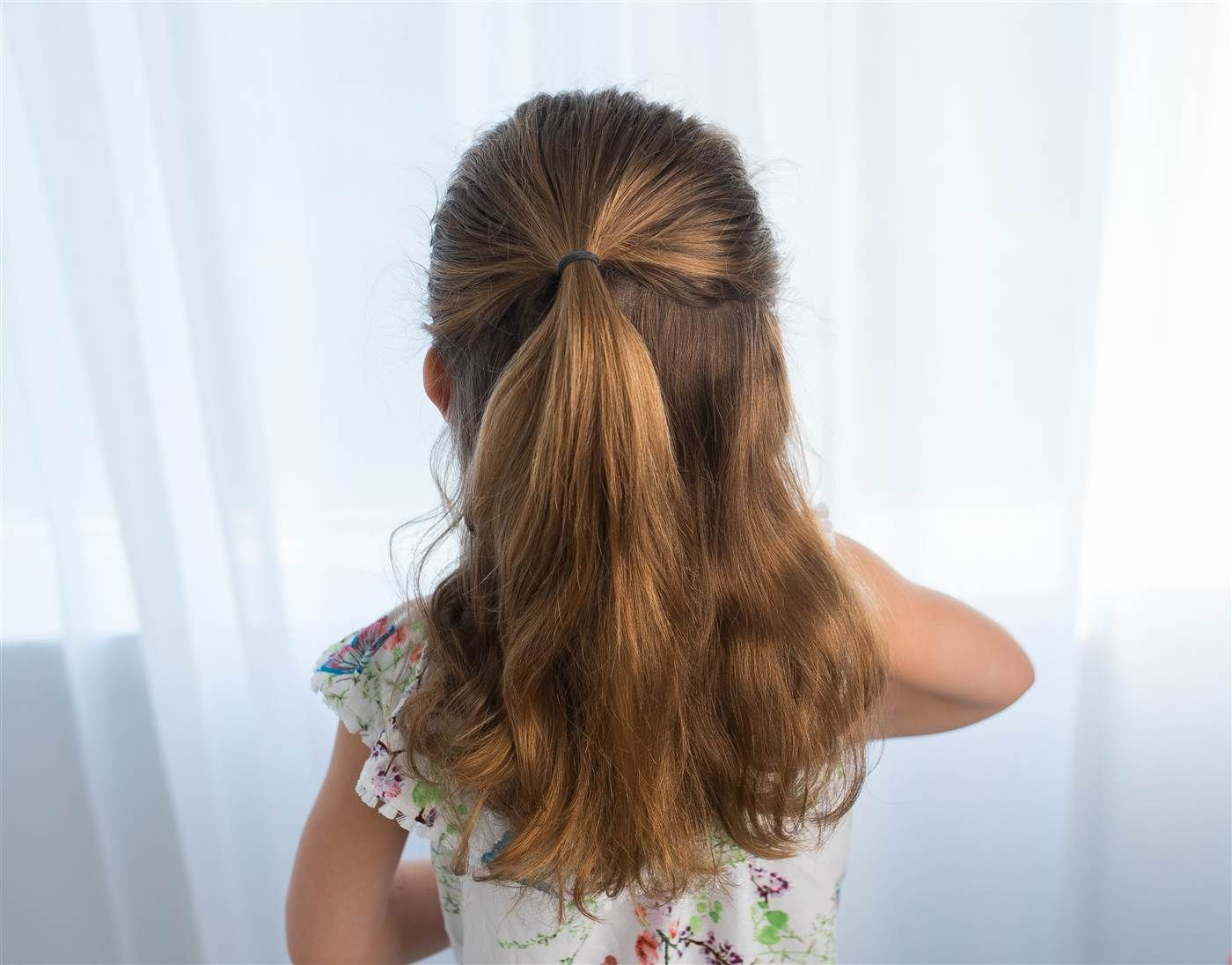 5 easy back-to school hairstyles for girls | Easy hairstyles for kids, Little girl hairstyles ...