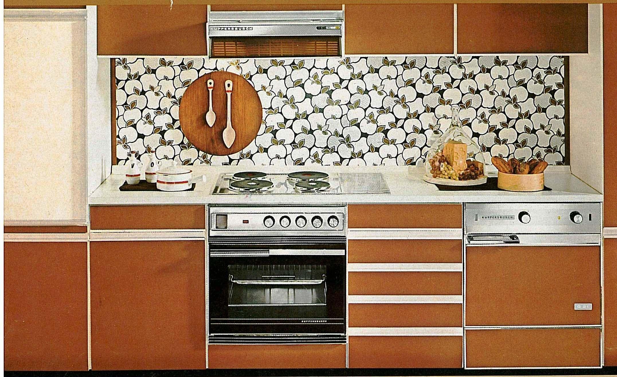 Eine Küche aus den 70iger Jahren...