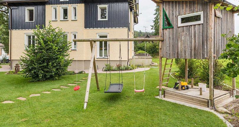 So Lasst Sich Auch Ein Kleiner Garten Kindgerecht Gestalten Kleiner Garten Garten Garten Gestalten