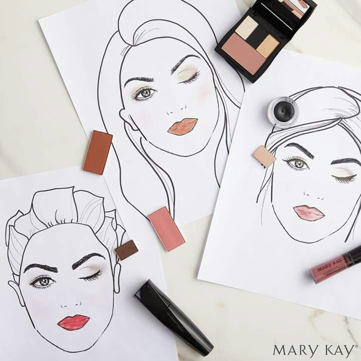¿Has probado nuestros fantásticos looks en la Aplicación de Maquillaje Virtual de Mary Kay? ¡Diviértete probándotelos todos!