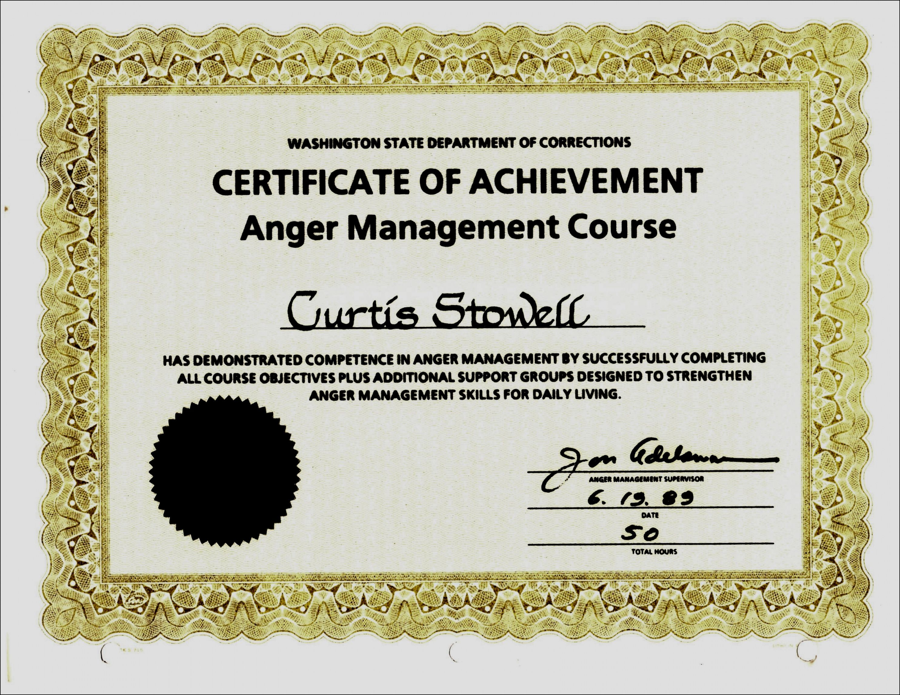 Get Our Free Anger Management Certificate Of Completion Template Certificate Of Completion Template Business Letter Format Certificate Of Completion Anger management certificate of completion template