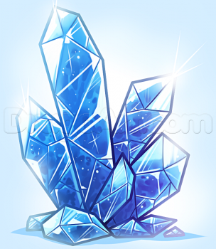 How To Draw Crystal Crystal Drawing Crystals Art Drawing Gem Drawing