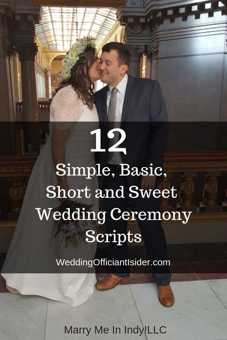 24++ Short religious wedding ceremony script info