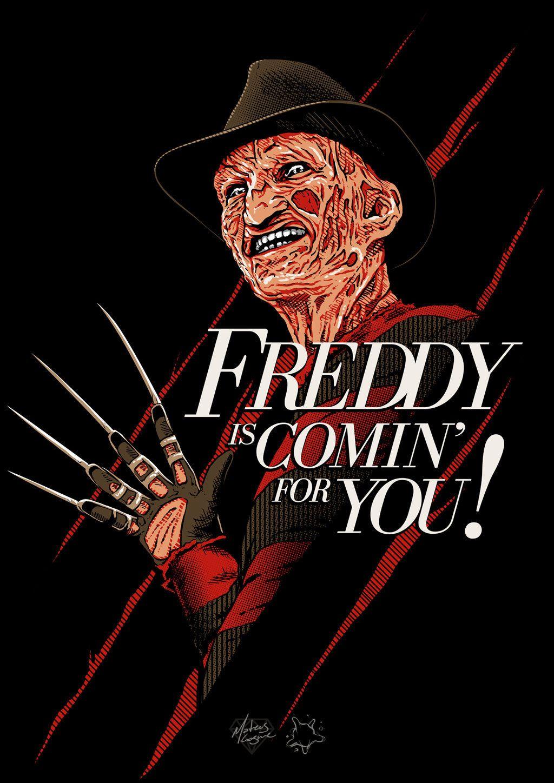 Johnny Dynamo Freddy By Mateus Cosme Freddy Krueger Art