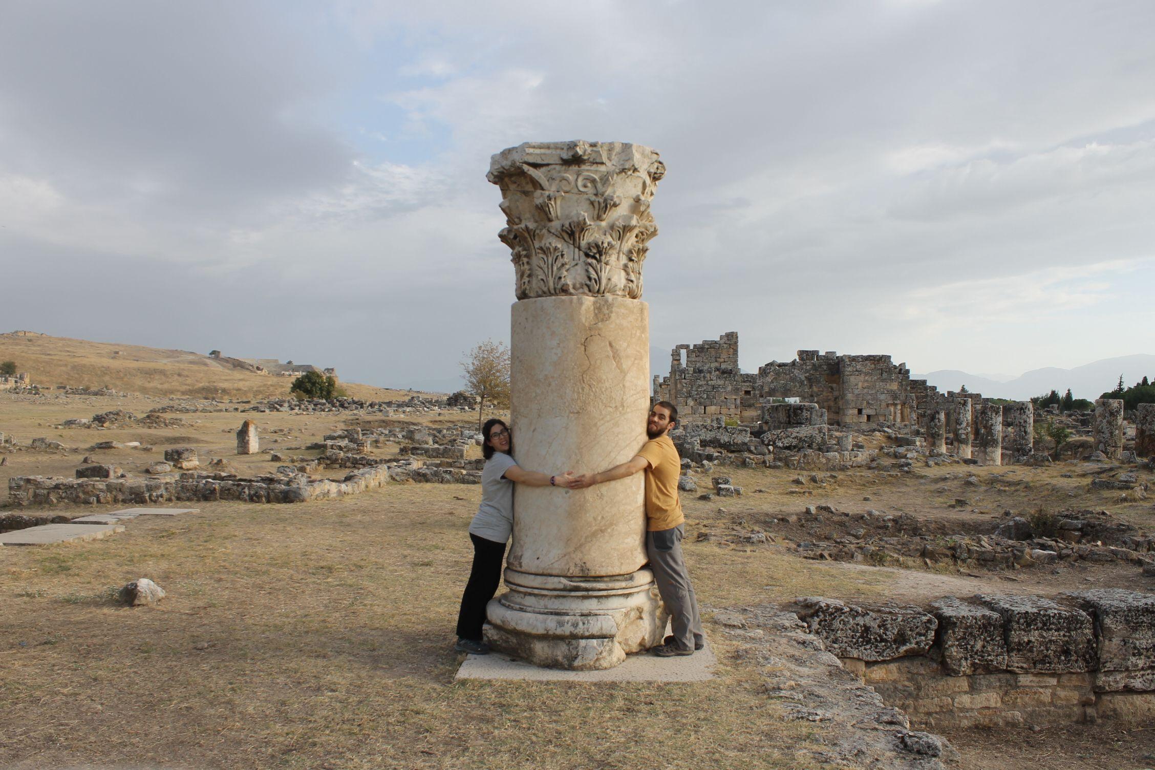 Ruinas de la antigua ciudad de Hierápolis, Pamukkale