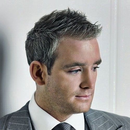 Men S Grey Hairstyles More
