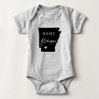 Arkansas Home Grown State Tee - heart gifts love hearts special diy