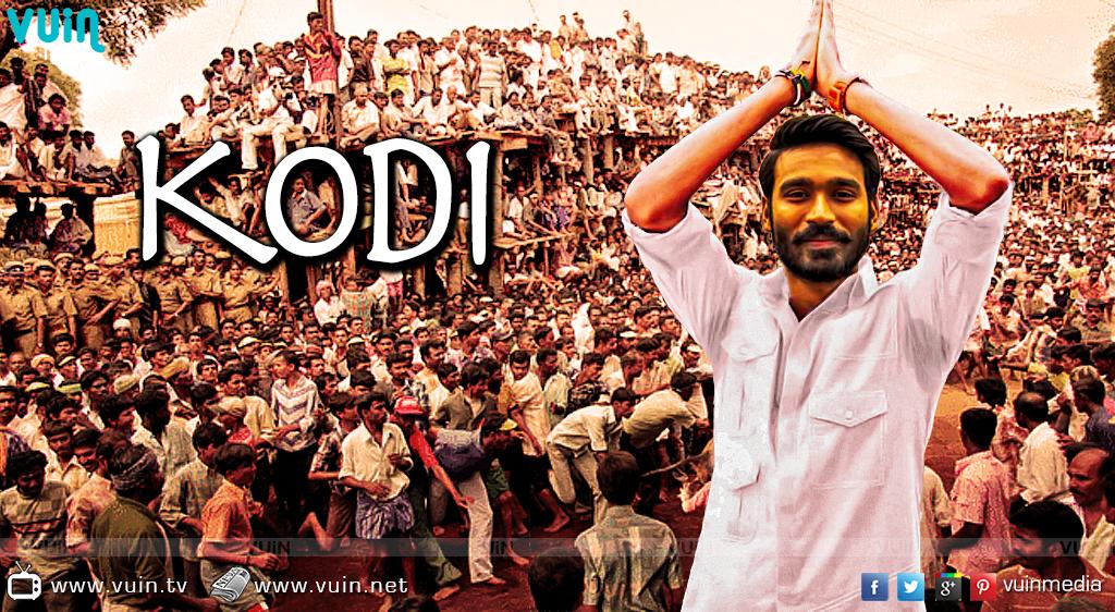 Dhanush's 'Kodi' first look on Sep 28!