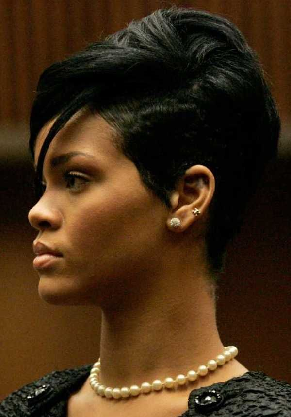 Black Hairstyles 2014 nice short hairstyles for black women Rihanna Short Hair Pictures 2011 Short Hairstyles 2014 For Men