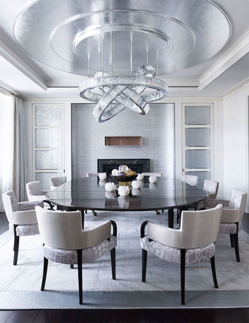 A Contemporary Design Trendsetter Residence In Indonesia Luxury Dining Room Dining Room Contemporary Dining Room Design Modern