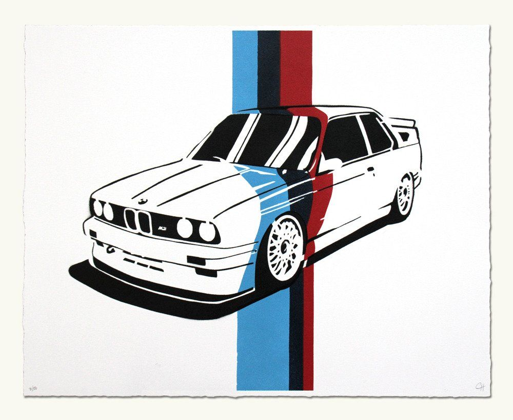 Bmw E30 M3 M Colors Bmw E30 Bmw E30 M3 Bmw Art