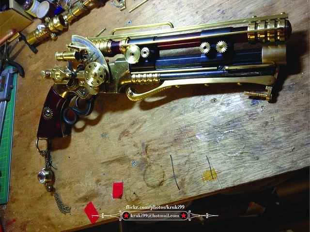 Steampunk pistol by Dave Crook | Flickr