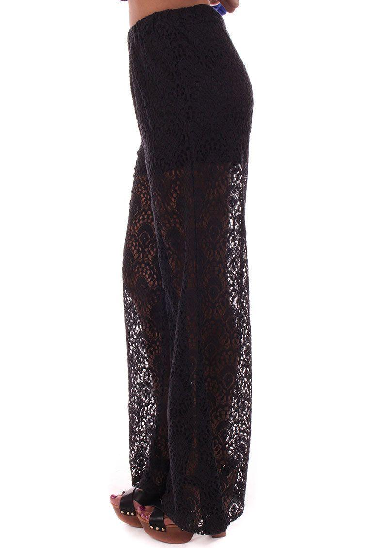 Lime Lush Boutique - Black Lace Woven Pants, $59.99 (http://www.limelush.com/black-lace-woven-pants/)