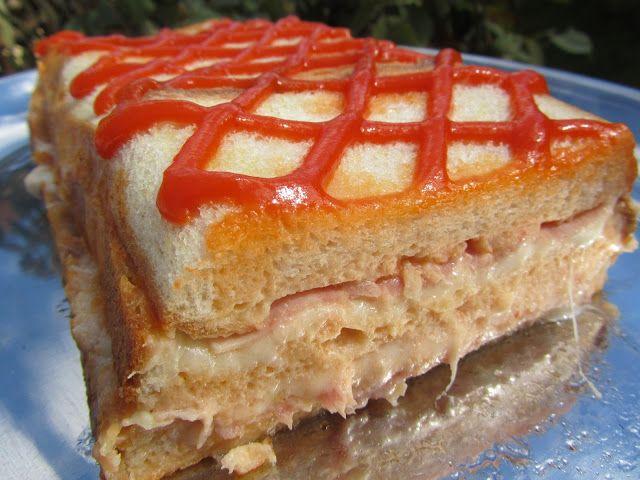 Pastel de sandwich thermomix realizadas por ana sevilla recetas thermomix pinterest pastel - Ana cocina facil ...