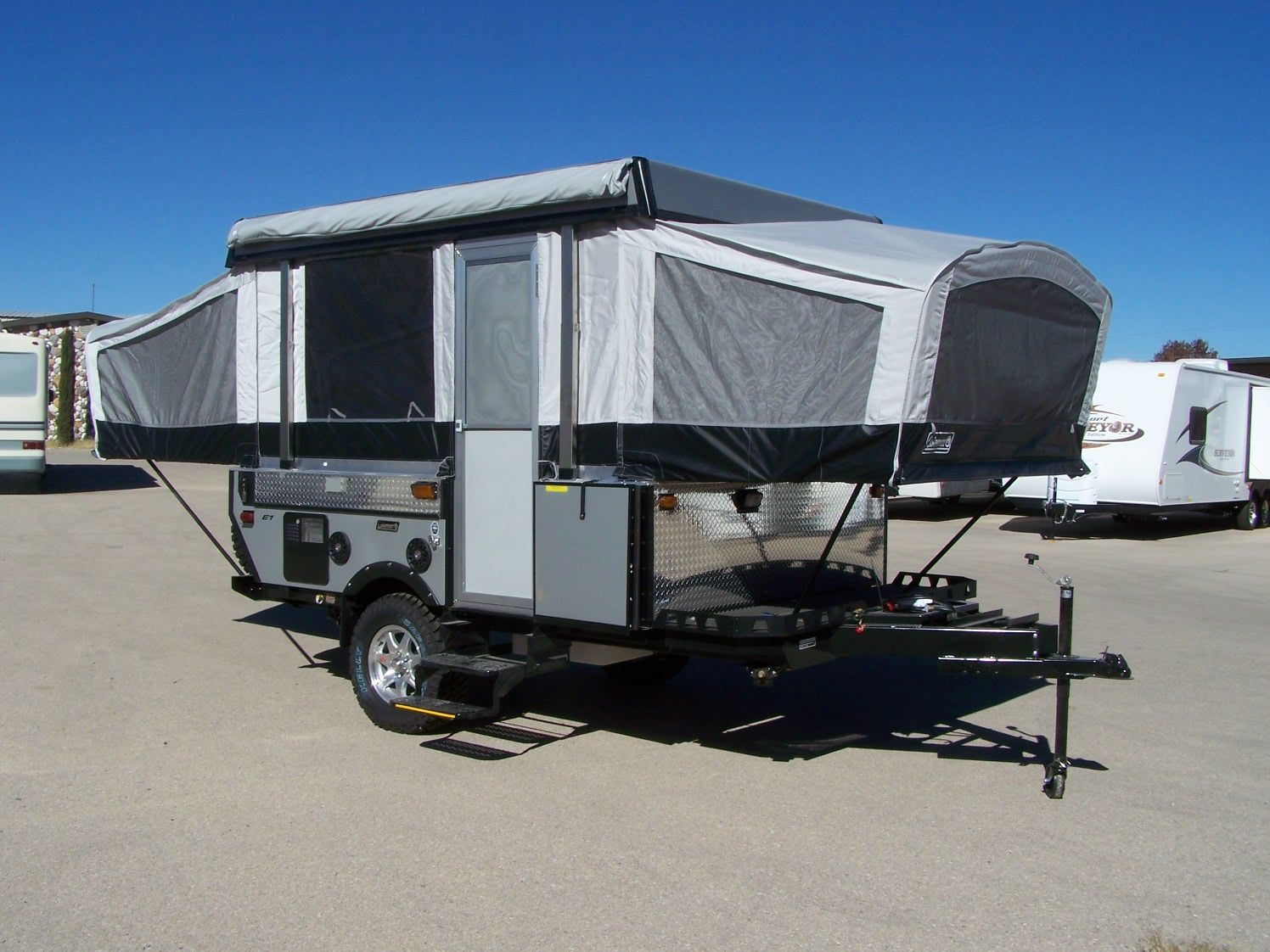 Fleetwood E1 Offroad Popup Tent Trailer Pop Up Camper Trailer