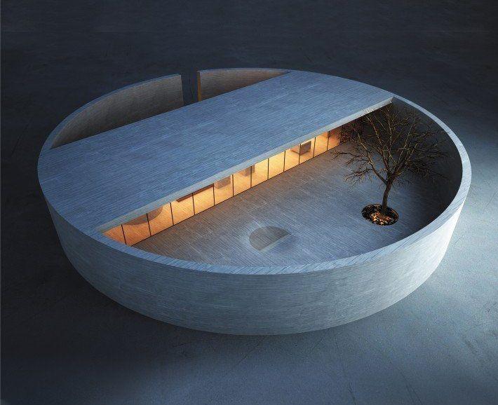 Industrial Design Ring House is Pure Zen Design awards Award