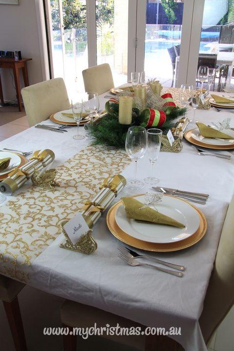 Christmas Table Decorating Christmas Tables Decoration Christmas