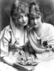 Image result for lillian and dorothy gish""