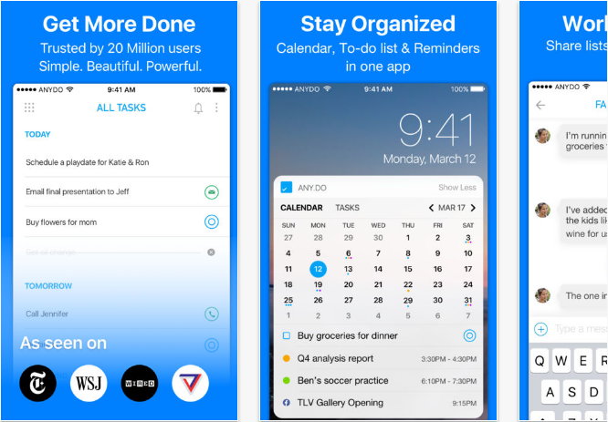 iOS productivity apps for iPhone and iPad Productivity