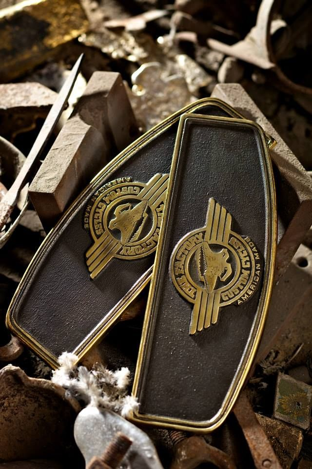 #0069 Floorboards Square with logo, all brass cast ...