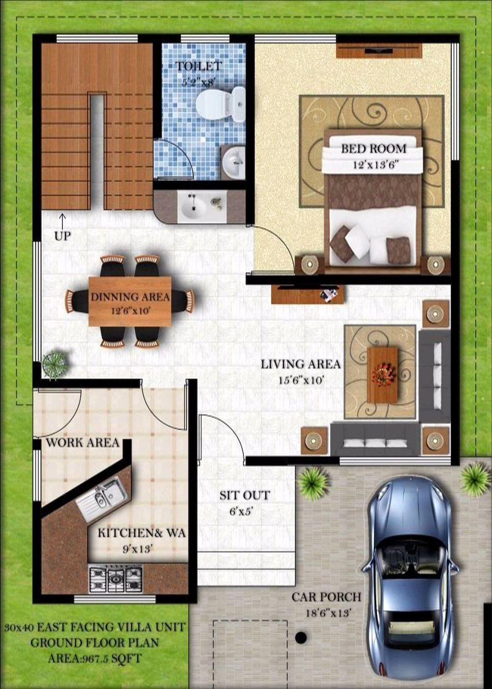 24x25 Ft Simple And Best House Plan House Plans Simple House Plans How To Plan