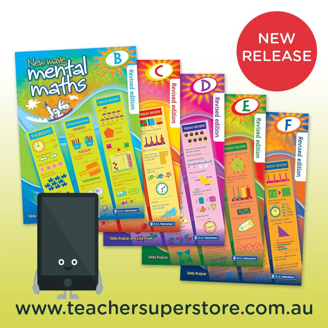 New Wave Mental Maths Workbooks (Revised Edition). Books B-F have ...