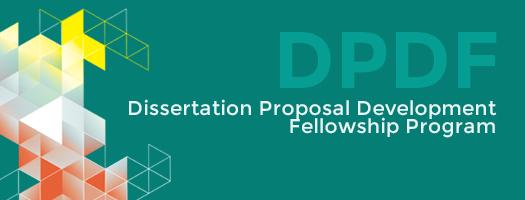 Dissertation Proposal Development Fellowship Dpdf Program Social Science Research Ssrc