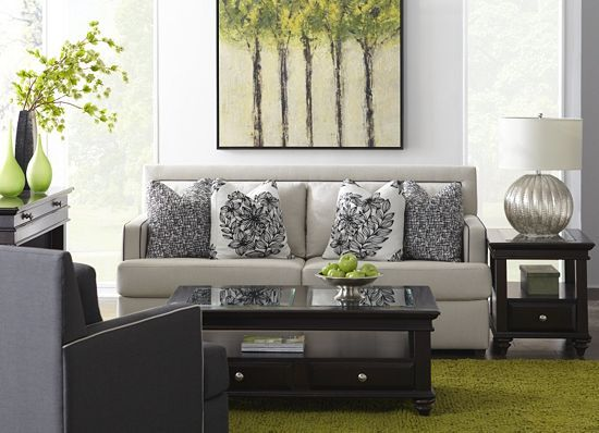 Allison, Living Rooms | Havertys Furniture