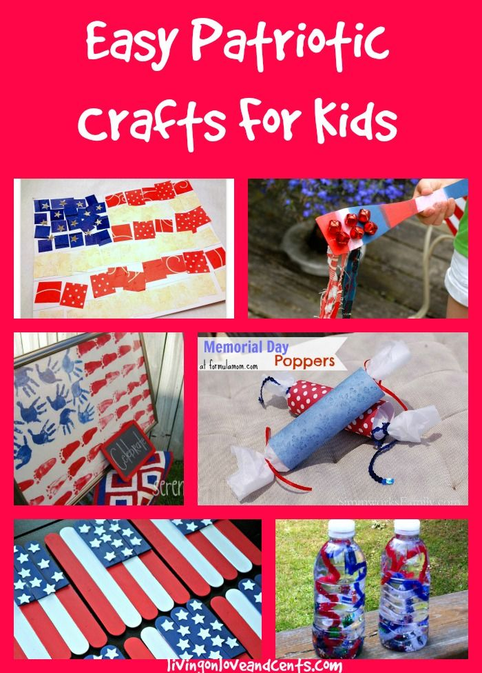 Memorial Day Easy Worksheets : Easy patriotic crafts for kids th of july memorial day