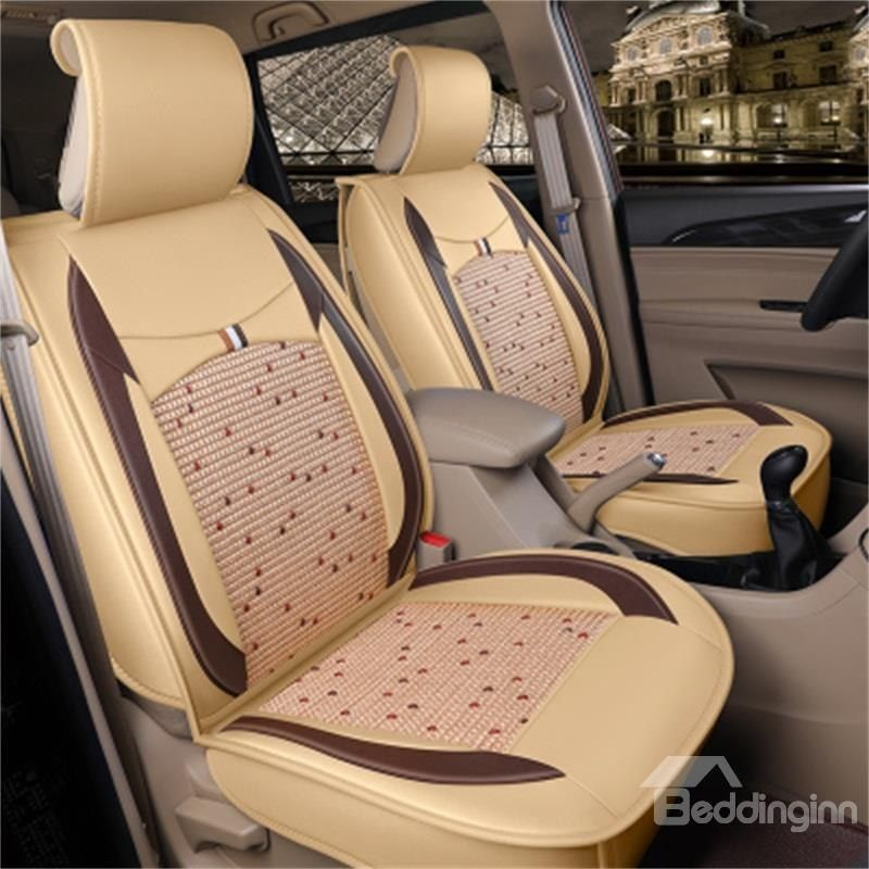 Ice Wire Backrest Sport Style Front Single Seat Universal Car Seat Cover Car Seats Seating Carseat Cover