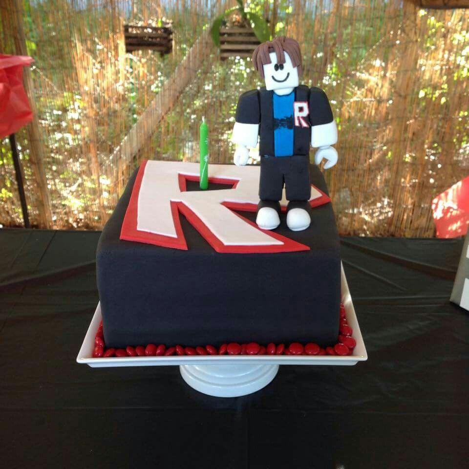 Funny Cake Videos On Roblox Roblox Cake Roblox Cake Birthday Cake Kids Boy Birthday Cake