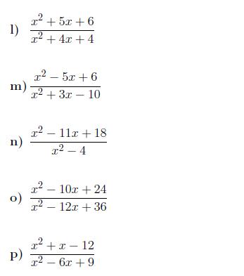Simplifying Expressions With Algebraic Fractions Worksheet With Solutions Fractions Worksheets Simplifying Expressions Quadratics