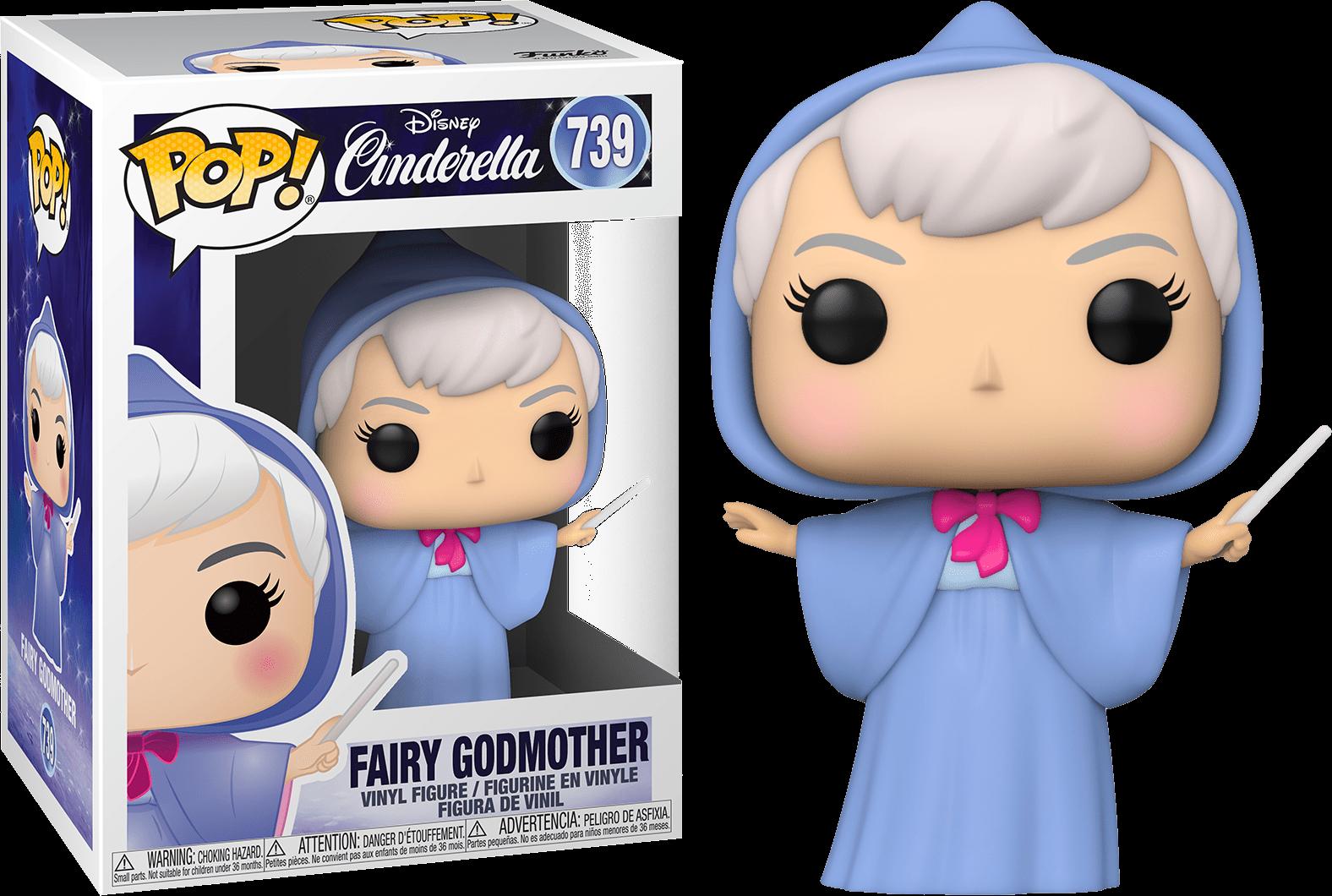 Funko Pop Disney Cinderella Fairy Godmother Funko Pop Dolls Pop Vinyl Figures Funko Pop Anime
