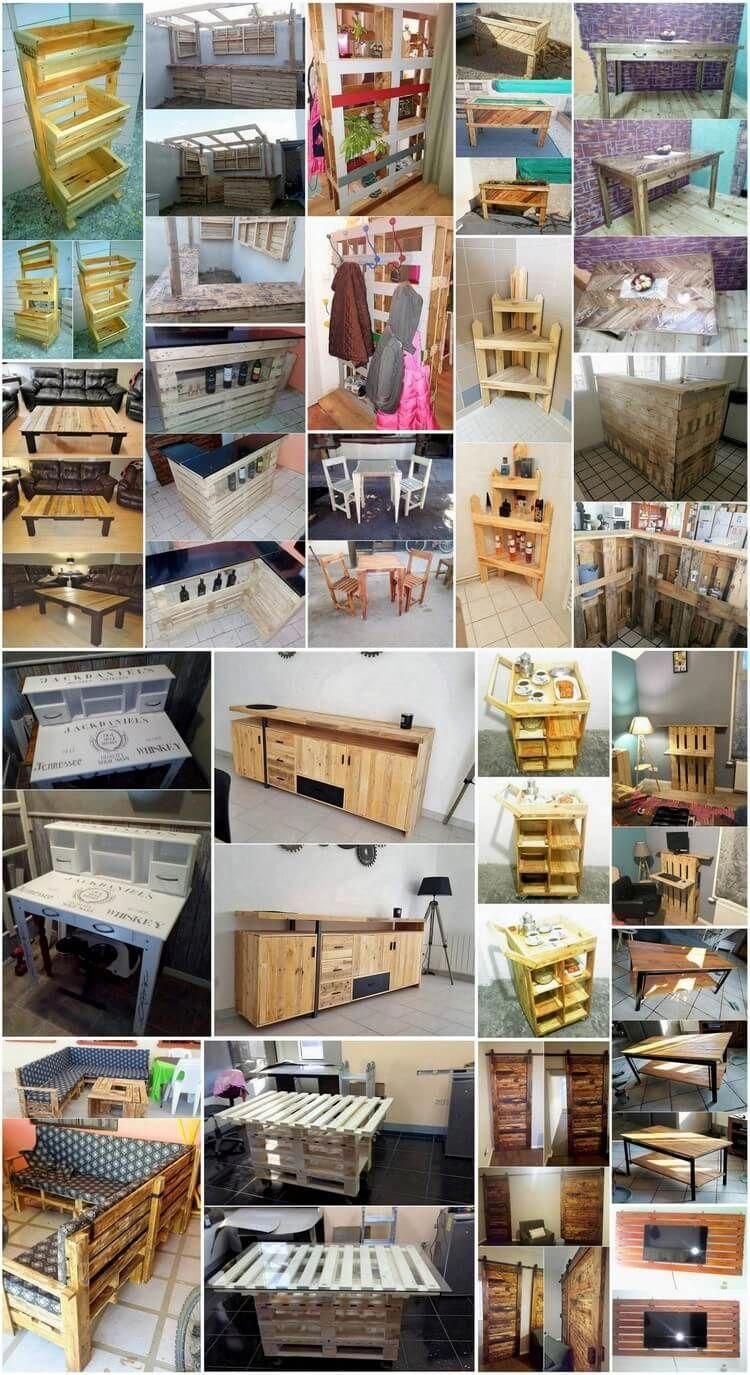 Fresh Ideas for Recycling Old Wood Pallets   Wood pallet ...